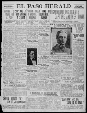 Primary view of object titled 'El Paso Herald (El Paso, Tex.), Ed. 1, Friday, February 4, 1910'.