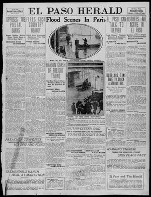 Primary view of object titled 'El Paso Herald (El Paso, Tex.), Ed. 1, Monday, February 7, 1910'.