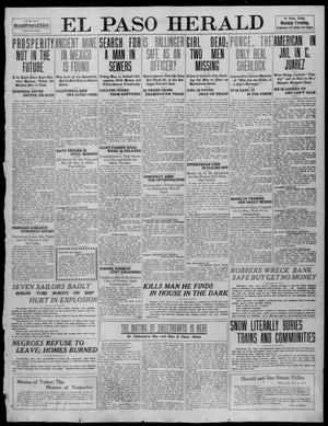 Primary view of object titled 'El Paso Herald (El Paso, Tex.), Ed. 1, Monday, February 14, 1910'.