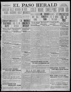 Primary view of object titled 'El Paso Herald (El Paso, Tex.), Ed. 1, Tuesday, February 15, 1910'.