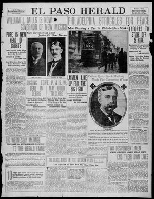 Primary view of object titled 'El Paso Herald (El Paso, Tex.), Ed. 1, Tuesday, March 1, 1910'.