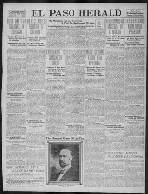 Primary view of object titled 'El Paso Herald (El Paso, Tex.), Ed. 1, Wednesday, February 22, 1911'.