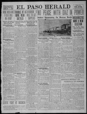 Primary view of object titled 'El Paso Herald (El Paso, Tex.), Ed. 1, Friday, March 17, 1911'.