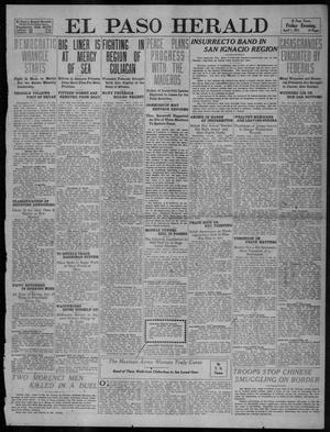 Primary view of object titled 'El Paso Herald (El Paso, Tex.), Ed. 1, Friday, April 7, 1911'.
