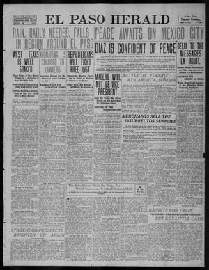 Primary view of object titled 'El Paso Herald (El Paso, Tex.), Ed. 1, Tuesday, April 25, 1911'.