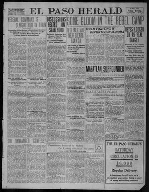 Primary view of object titled 'El Paso Herald (El Paso, Tex.), Ed. 1, Friday, April 28, 1911'.