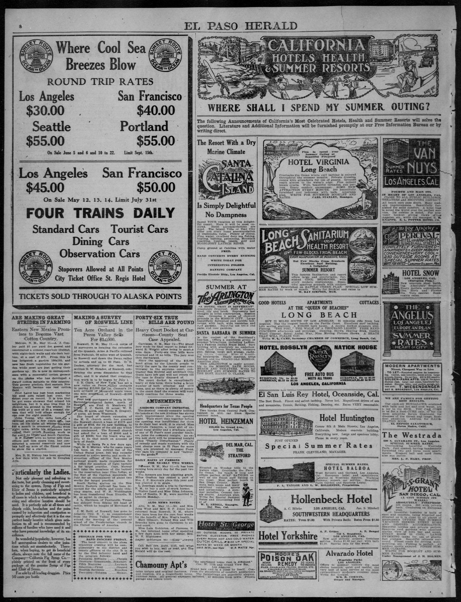 El Paso Herald (El Paso, Tex ), Ed  1, Thursday, May 11