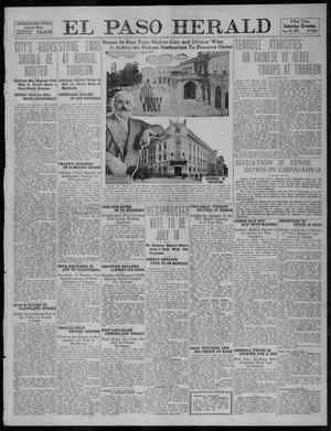 Primary view of object titled 'El Paso Herald (El Paso, Tex.), Ed. 1, Saturday, June 10, 1911'.
