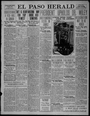 Primary view of object titled 'El Paso Herald (El Paso, Tex.), Ed. 1, Friday, September 15, 1911'.