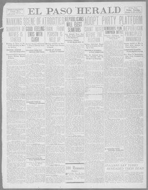 Primary view of object titled 'El Paso Herald (El Paso, Tex.), Ed. 1, Friday, November 10, 1911'.