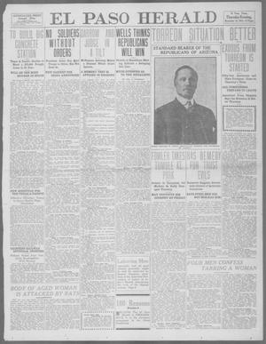 Primary view of object titled 'El Paso Herald (El Paso, Tex.), Ed. 1, Thursday, November 16, 1911'.