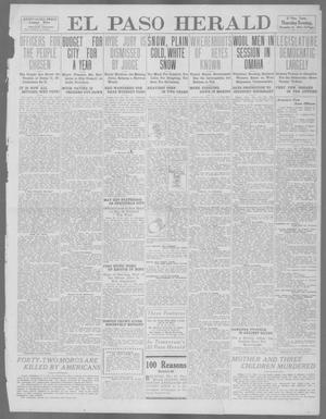 Primary view of object titled 'El Paso Herald (El Paso, Tex.), Ed. 1, Thursday, December 14, 1911'.