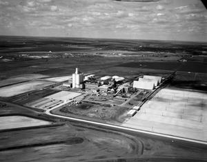 Primary view of object titled '[Aerial Photograph of the Holly Sugar Plant]'.