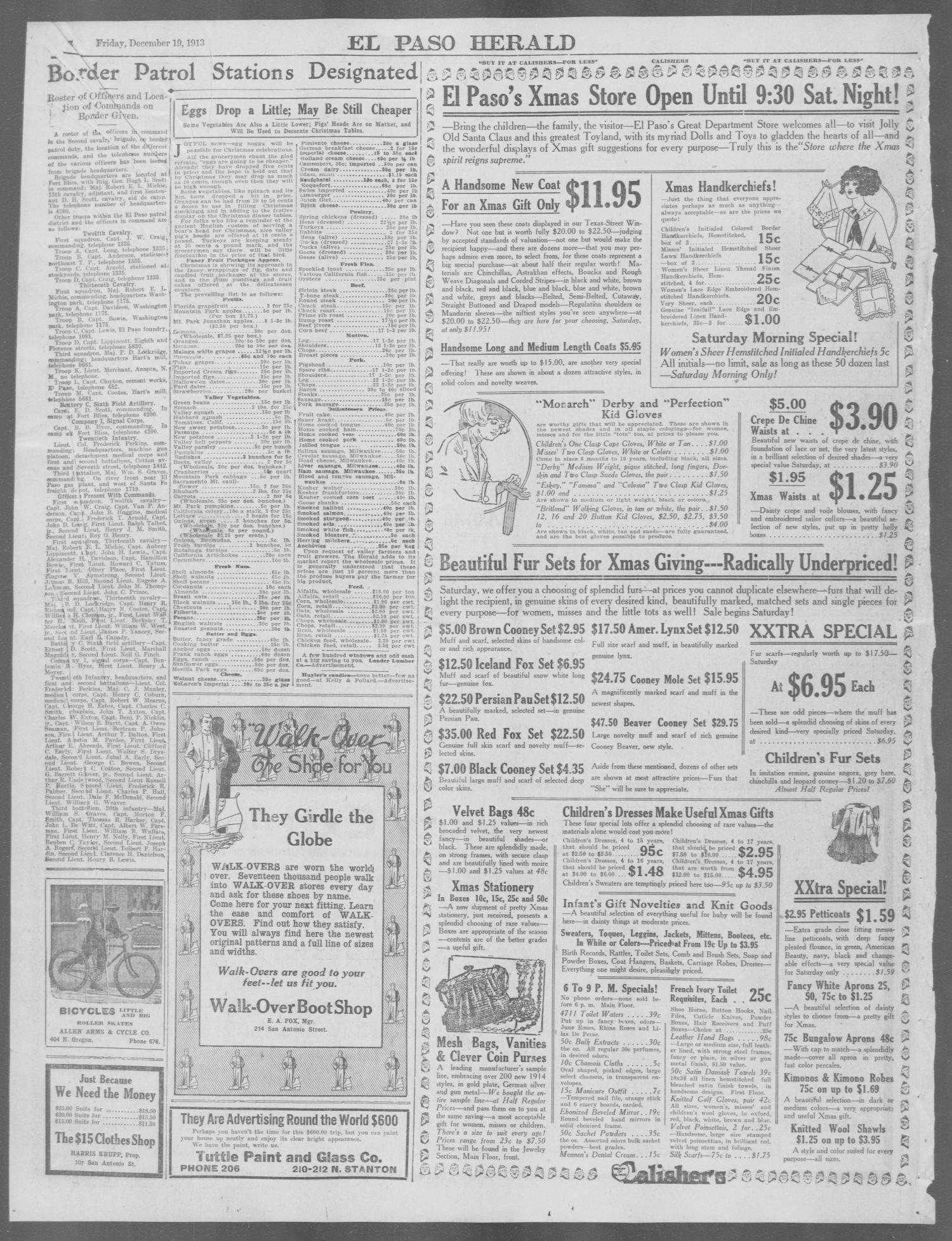 El Paso Herald (El Paso, Tex.), Ed. 1, Friday, December 19, 1913 ...
