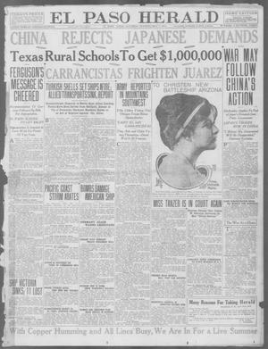 Primary view of object titled 'El Paso Herald (El Paso, Tex.), Ed. 1, Saturday, May 1, 1915'.