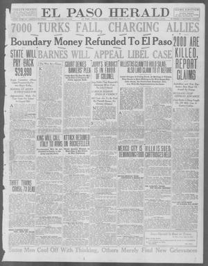 Primary view of object titled 'El Paso Herald (El Paso, Tex.), Ed. 1, Saturday, May 22, 1915'.