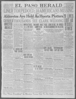 Primary view of object titled 'El Paso Herald (El Paso, Tex.), Ed. 1, Wednesday, June 30, 1915'.