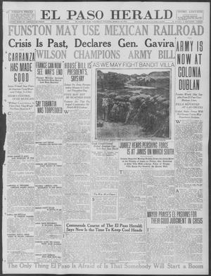 Primary view of object titled 'El Paso Herald (El Paso, Tex.), Ed. 1, Saturday, March 18, 1916'.