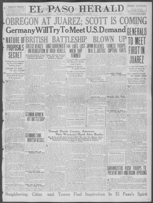 Primary view of object titled 'El Paso Herald (El Paso, Tex.), Ed. 1, Friday, April 28, 1916'.
