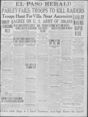Primary view of object titled 'El Paso Herald (El Paso, Tex.), Ed. 1, Saturday, May 13, 1916'.