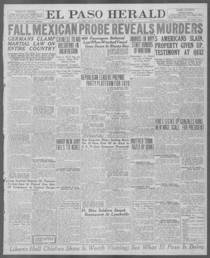 Primary view of object titled 'El Paso Herald (El Paso, Tex.), Ed. 1, Wednesday, January 14, 1920'.
