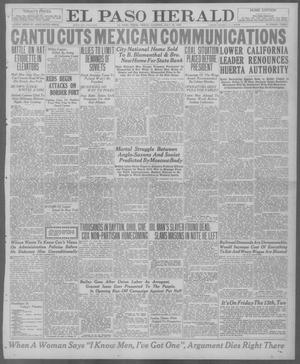Primary view of object titled 'El Paso Herald (El Paso, Tex.), Ed. 1, Friday, July 30, 1920'.