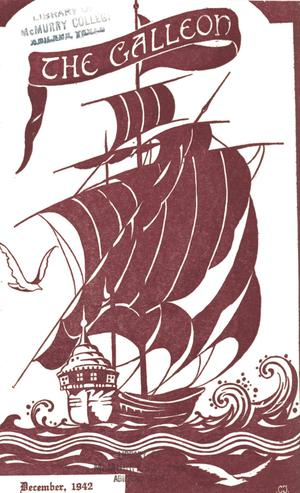 Primary view of object titled 'The Galleon, Volume 18, Number 1, December 1942'.