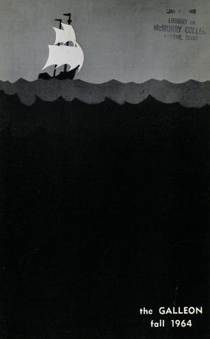 Primary view of object titled 'The Galleon, Volume 41, Number 1, Fall 1964'.