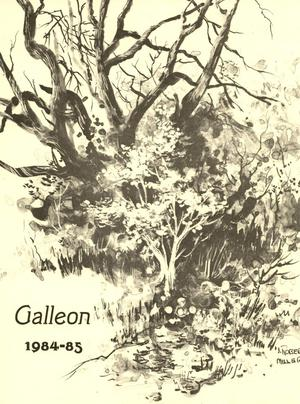 Primary view of object titled 'The Galleon, Volume 60, 1984-1985'.