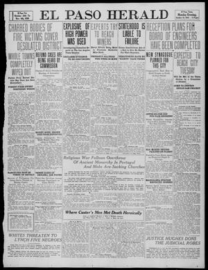 Primary view of object titled 'El Paso Herald (El Paso, Tex.), Ed. 1, Monday, October 10, 1910'.