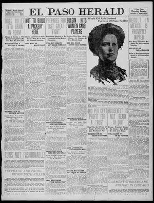 Primary view of object titled 'El Paso Herald (El Paso, Tex.), Ed. 1, Thursday, November 17, 1910'.