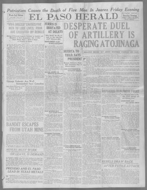 Primary view of object titled 'El Paso Herald (El Paso, Tex.), Ed. 1, Saturday, January 3, 1914'.