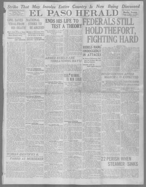 Primary view of object titled 'El Paso Herald (El Paso, Tex.), Ed. 1, Monday, January 5, 1914'.
