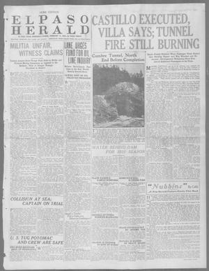Primary view of El Paso Herald (El Paso, Tex.), Ed. 1, Wednesday, February 11, 1914
