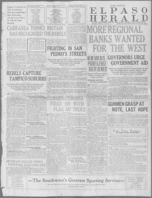 Primary view of object titled 'El Paso Herald (El Paso, Tex.), Ed. 1, Friday, April 10, 1914'.