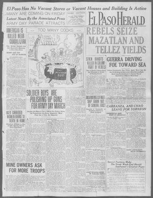 Primary view of object titled 'El Paso Herald (El Paso, Tex.), Ed. 1, Thursday, May 7, 1914'.