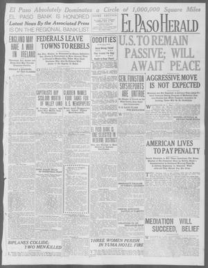 Primary view of object titled 'El Paso Herald (El Paso, Tex.), Ed. 1, Tuesday, May 12, 1914'.