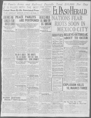 Primary view of object titled 'El Paso Herald (El Paso, Tex.), Ed. 1, Friday, May 15, 1914'.