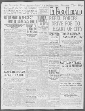 Primary view of object titled 'El Paso Herald (El Paso, Tex.), Ed. 1, Tuesday, May 19, 1914'.