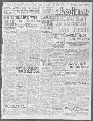 Primary view of object titled 'El Paso Herald (El Paso, Tex.), Ed. 1, Monday, June 1, 1914'.