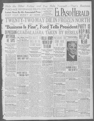 Primary view of object titled 'El Paso Herald (El Paso, Tex.), Ed. 1, Thursday, July 9, 1914'.