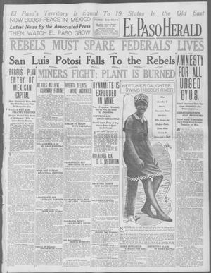 Primary view of object titled 'El Paso Herald (El Paso, Tex.), Ed. 1, Friday, July 17, 1914'.