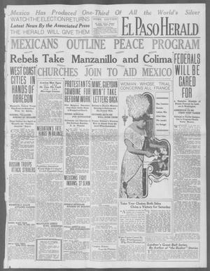 Primary view of object titled 'El Paso Herald (El Paso, Tex.), Ed. 1, Friday, July 24, 1914'.