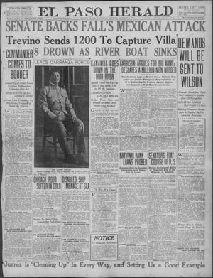 Primary view of object titled 'El Paso Herald (El Paso, Tex.), Ed. 1, Thursday, January 6, 1916'.