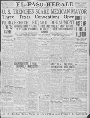 Primary view of object titled 'El Paso Herald (El Paso, Tex.), Ed. 1, Tuesday, May 23, 1916'.