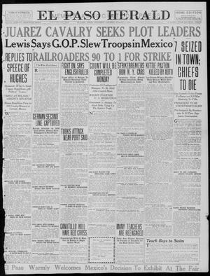 Primary view of object titled 'El Paso Herald (El Paso, Tex.), Ed. 1, Saturday, August 5, 1916'.