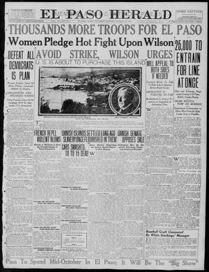 Primary view of El Paso Herald (El Paso, Tex.), Ed. 1, Saturday, August 12, 1916