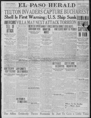 Primary view of object titled 'El Paso Herald (El Paso, Tex.), Ed. 1, Wednesday, December 6, 1916'.