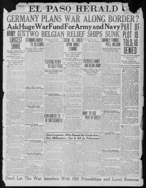 Primary view of object titled 'El Paso Herald (El Paso, Tex.), Ed. 1, Thursday, April 5, 1917'.
