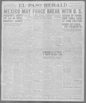Primary view of object titled 'El Paso Herald (El Paso, Tex.), Ed. 1, Saturday, May 25, 1918'.